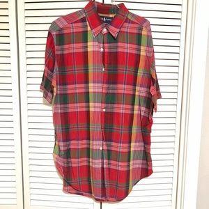 Ralph Lauren Short Sleeve Classic Fit Button Down